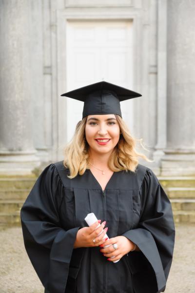 Caoimhe Baxter Graduation